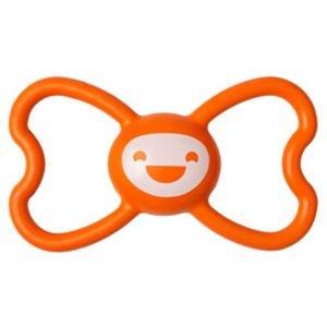 犬のおもちゃ Butterfly バタフライ オレンジ ユナイテッドペッツ UNITED PETS 天然ゴム 中型犬 大型犬