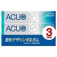 ロッテ ACUO(アクオ) クリアブルーミント 3P×10個入×(2ケース)