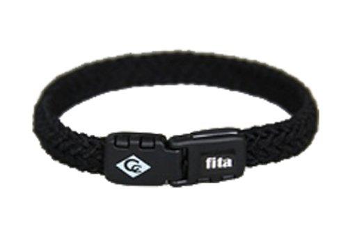 [해외]COLANCOLAN (코란 코란) Fita 휘타 팔찌 블랙 M 18.5cm/COLANCOLAN (Colan Koran) Fita Fita Bracelet Black M 18.5 cm