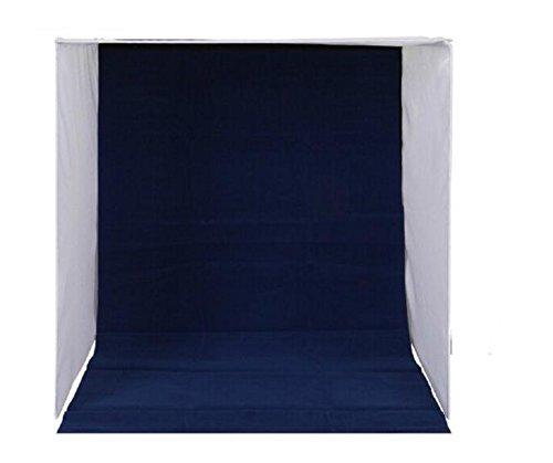 ミニ スタジオ 折り畳み式 4色背景付 撮影 ボックス スタジオボックス フォトスタジオ 簡易スタジオ 撮影キット コンパクト収納 (大) SCT