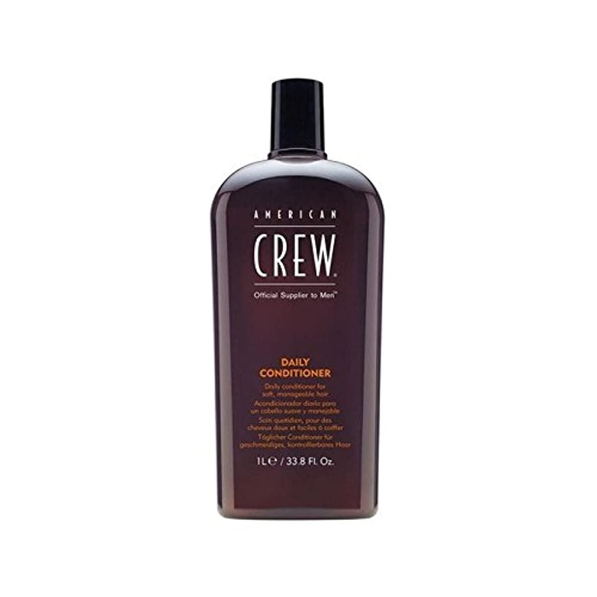American Crew Daily Conditioner (1L) - アメリカの乗組員の日常コンディショナー(1リットル) [並行輸入品]