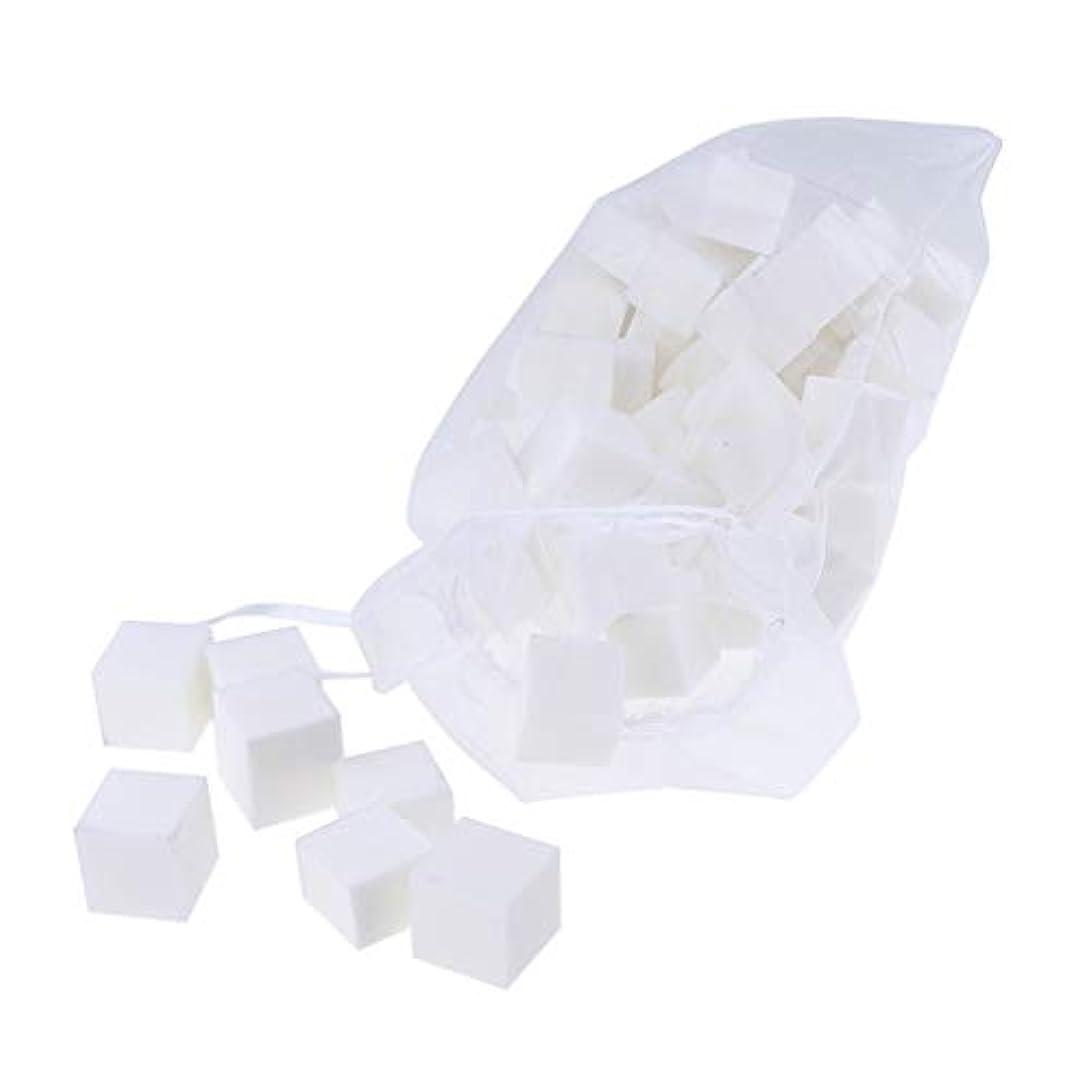 治療凶暴な国Toygogo 60ピース/パックミニネイルバッファーポリッシャーブロック、4面–プロフェッショナル4ウェイバフ研磨マニキュアケアホワイトサンディングツールセット