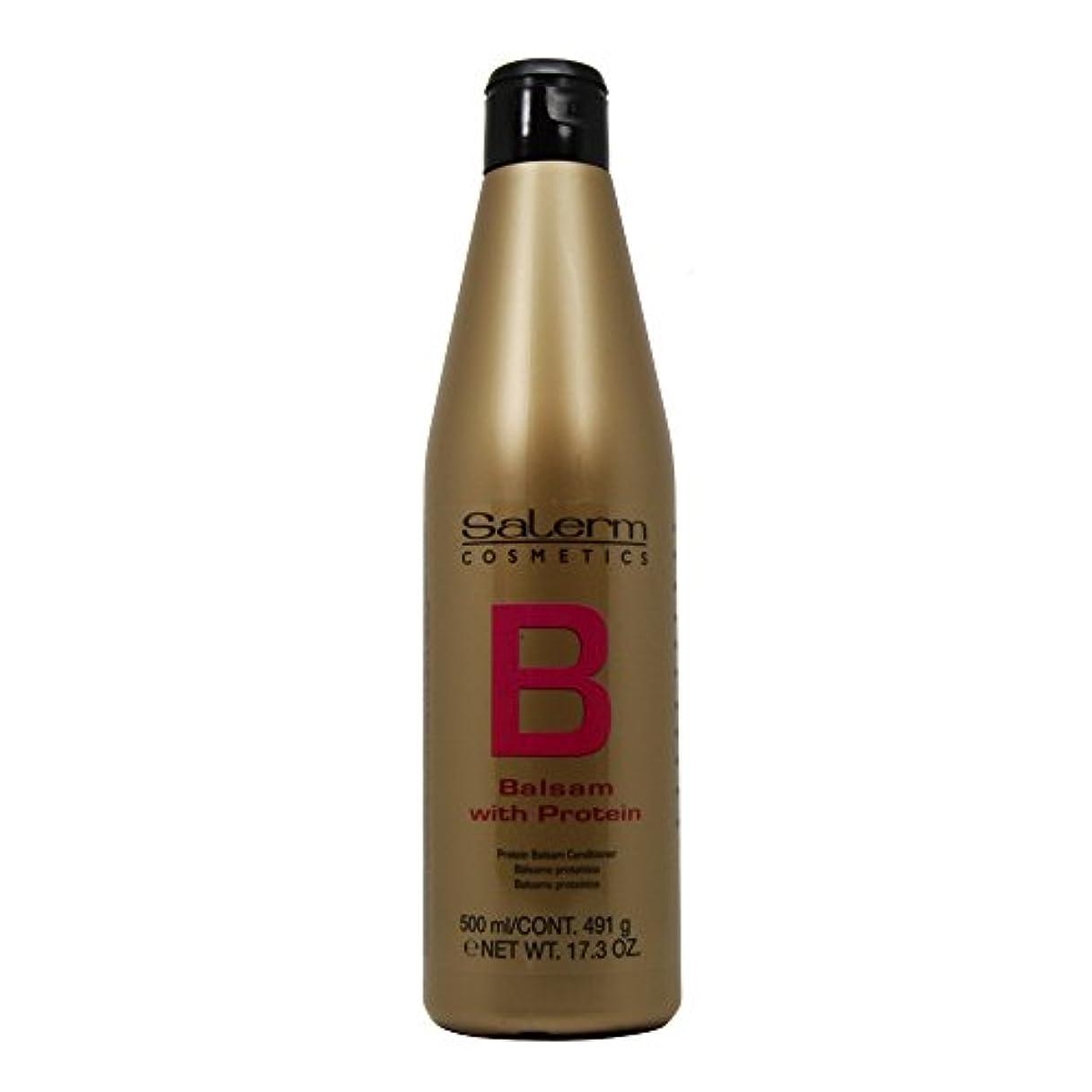 伝染性の是正する香りSalerm プロテインバルサモコンディショナー、17.3オンス 500ミリリットル