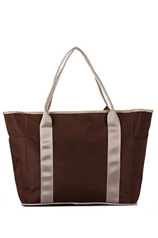Zisen マザーズバッグ ショルダーバッグ ママバッグ リュック 大容量 超軽量 ベビー用品収納バッグ リュック ハンドバッグ (カラー3)