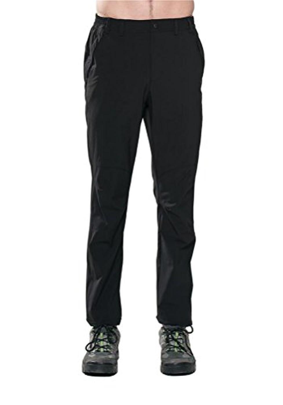 インゲン手を差し伸べるジャンプするKyphtem メンズ 夏用 アウトドア 速乾 通気 薄手 スリム ストレッチ トレッキングパンツ 登山用パンツ ロングパンツ スポーツパンツ