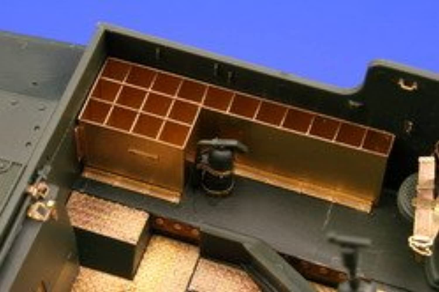 m7 Priest Ammo Boxes for ACY 1 / 35 Eduard