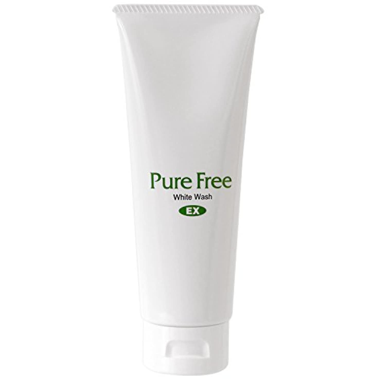 事前に自然公園心理的Pure Free (ピュアフリー) ホワイトウォッシュEX オーガニック 正規品 洗顔料 (サンプル用意あり)
