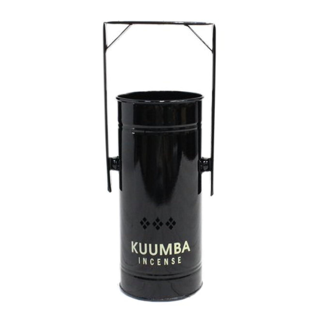 グラマーに負ける居心地の良いKUUMBA (クンバ)『INCENSE BURNER-Regular』(BLACK) (ONE SIZE, BLACK)