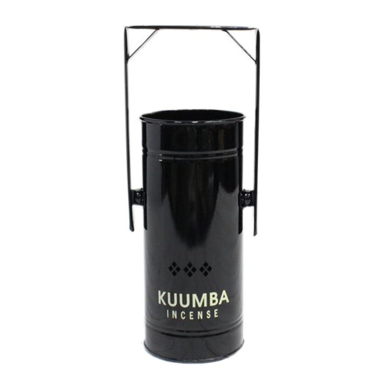 肉の知っているに立ち寄る空のKUUMBA (クンバ)『INCENSE BURNER-Regular』(BLACK) (ONE SIZE, BLACK)