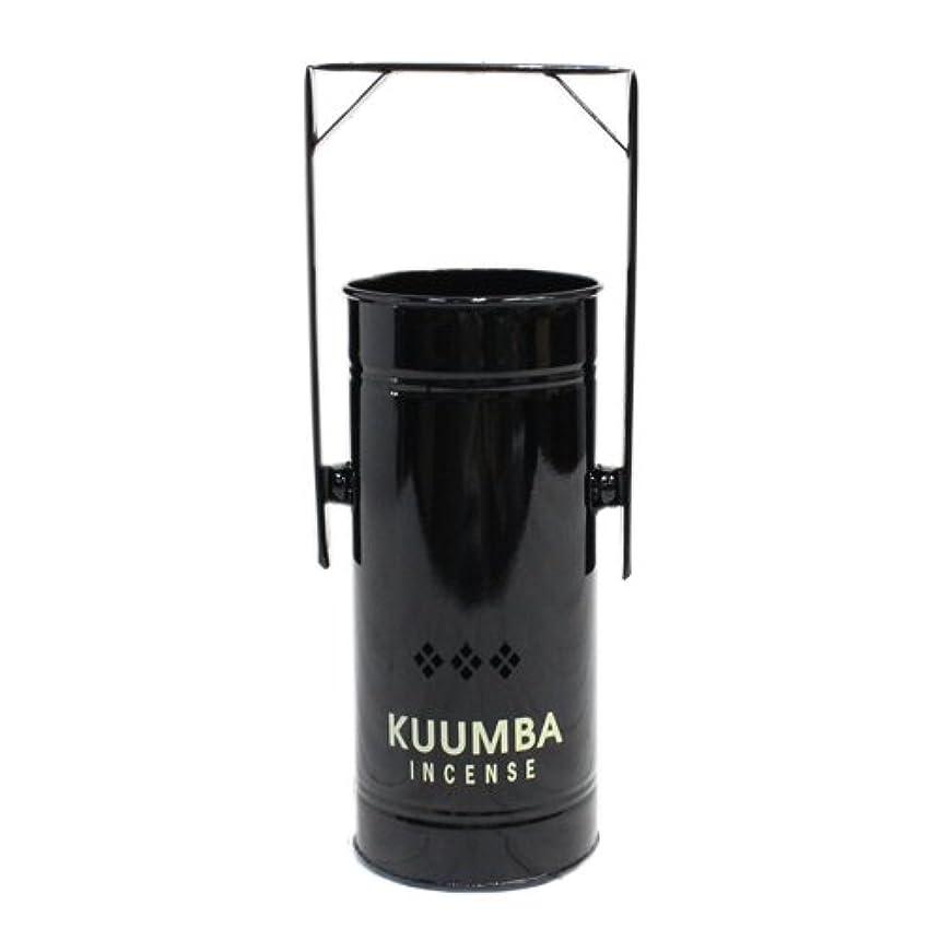 医療の取り付け添付KUUMBA (クンバ)『INCENSE BURNER-Regular』(BLACK) (ONE SIZE, BLACK)