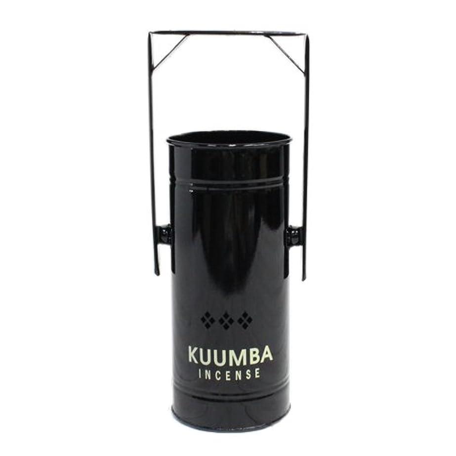 ラッカス思いつく結晶KUUMBA (クンバ)『INCENSE BURNER-Regular』(BLACK) (ONE SIZE, BLACK)