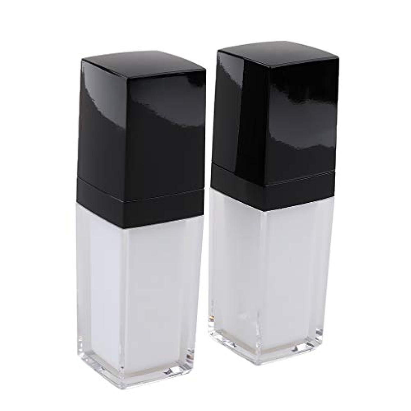靴パイプライン親密な2個入り シャンプーボトル 空 スプレーボトル ローション容器 ポンプボトル 全2サイズ - 30ミリリットル
