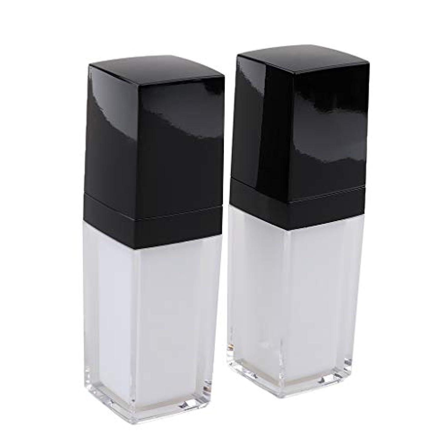 禁じる作曲家処分した2個入り シャンプーボトル 空 スプレーボトル ローション容器 ポンプボトル 全2サイズ - 30ミリリットル