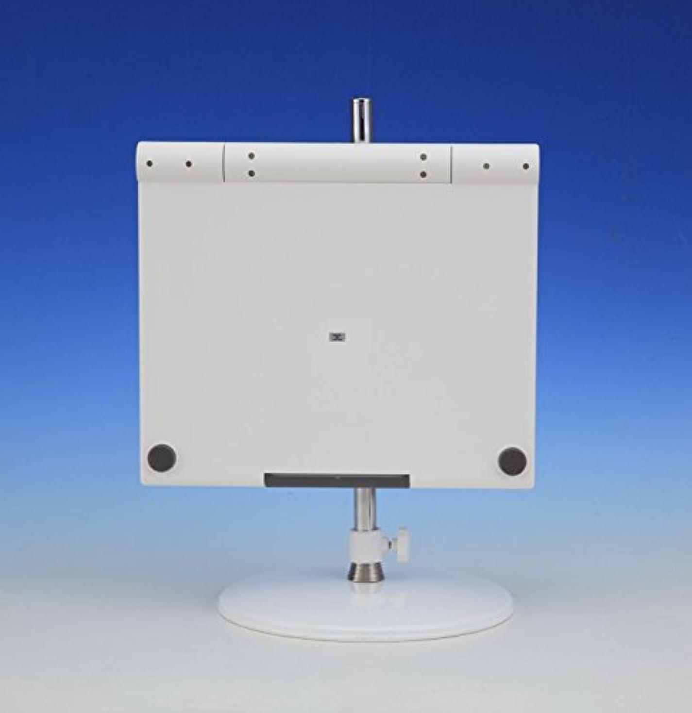 電気の有効化パット新型スリーウェイミラー!スタンドミラー三面鏡 (白)