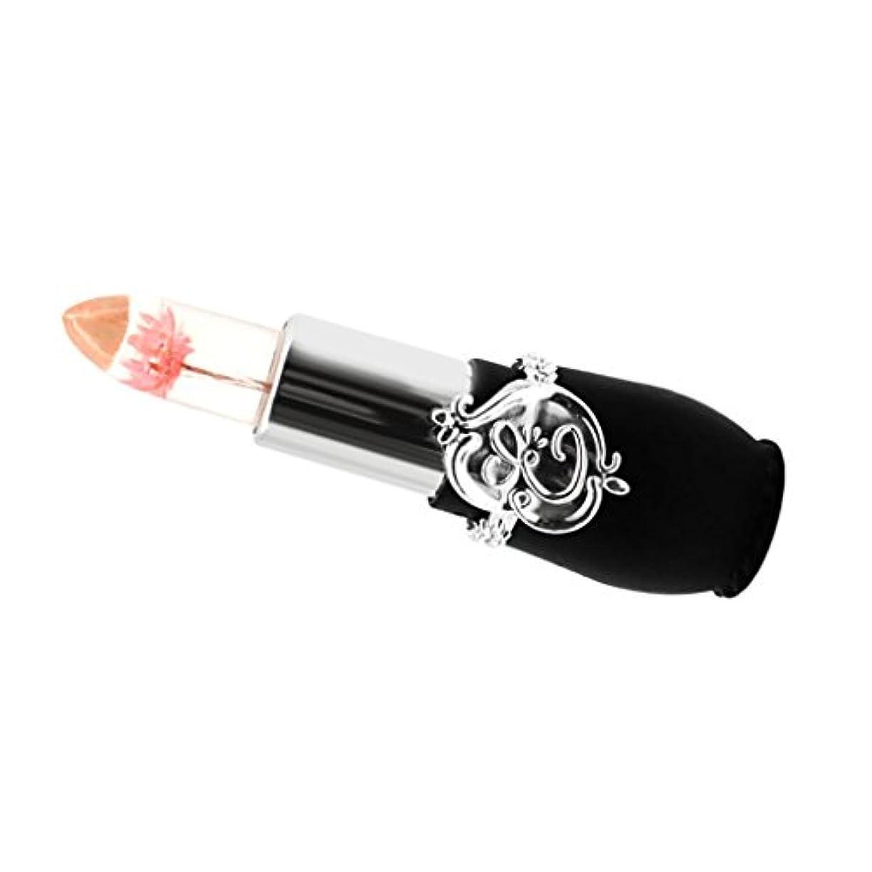剛性イースター運命的な色変化リップスティック リップグロス リップバーム 口紅 おしゃれ 長持ち 唇のケア 潤い 6タイプ選べる - ピンク
