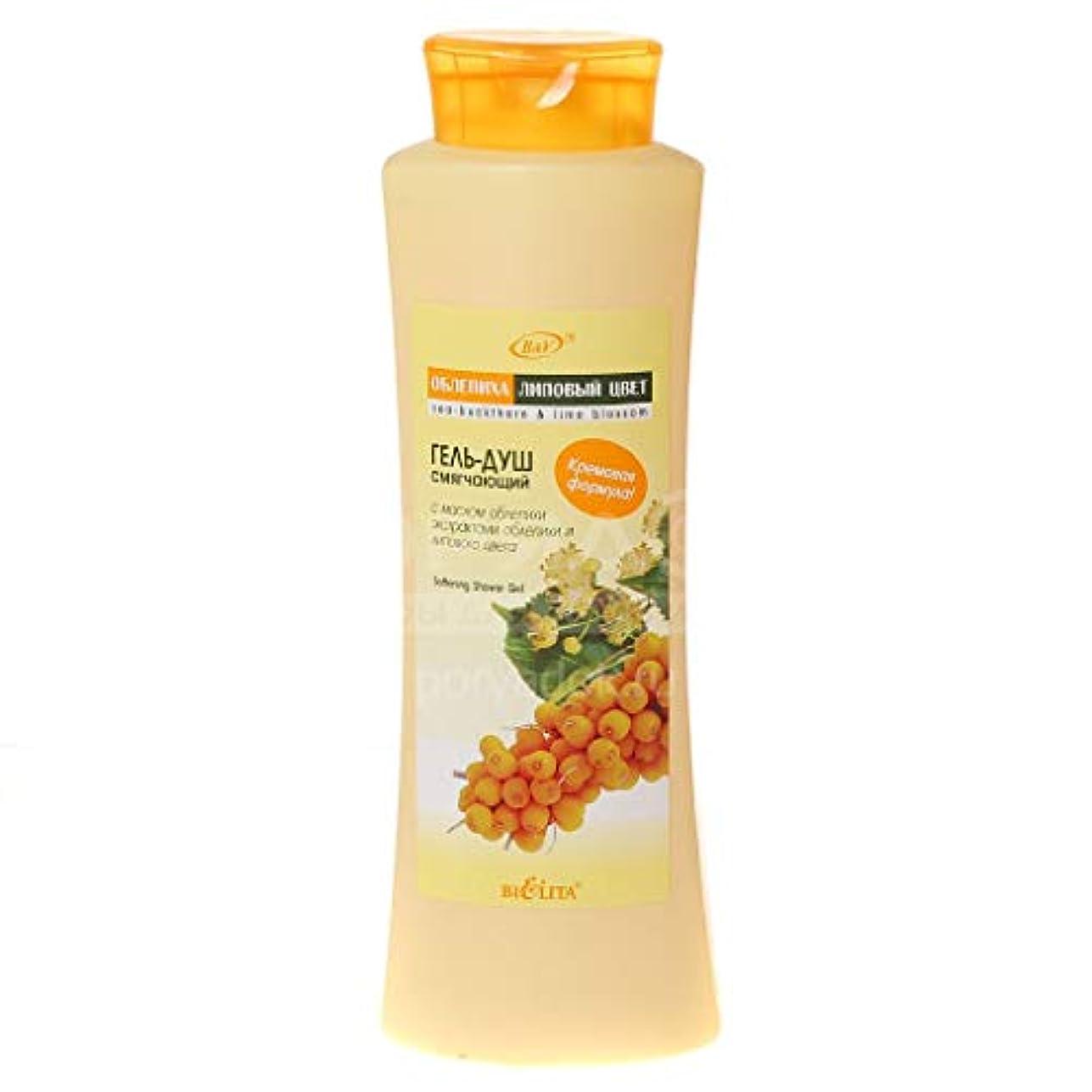 ボイコット悪化する蒸し器Bielita & Vitex Sea-Buckthorn Line | Shower Gel for Body Wash & Care, 500 ml | Sea-Buckthorn Oil, Lime Blossom Oil, Vitamin E