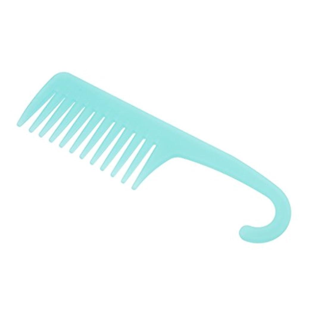 フリル最少飢えたPerfeclan ワイド歯ブラシ ヘアブラシ プロ ヘアーコンディション 櫛 耐熱性 帯電防止 ヘアコーム 3タイプ選べる - A