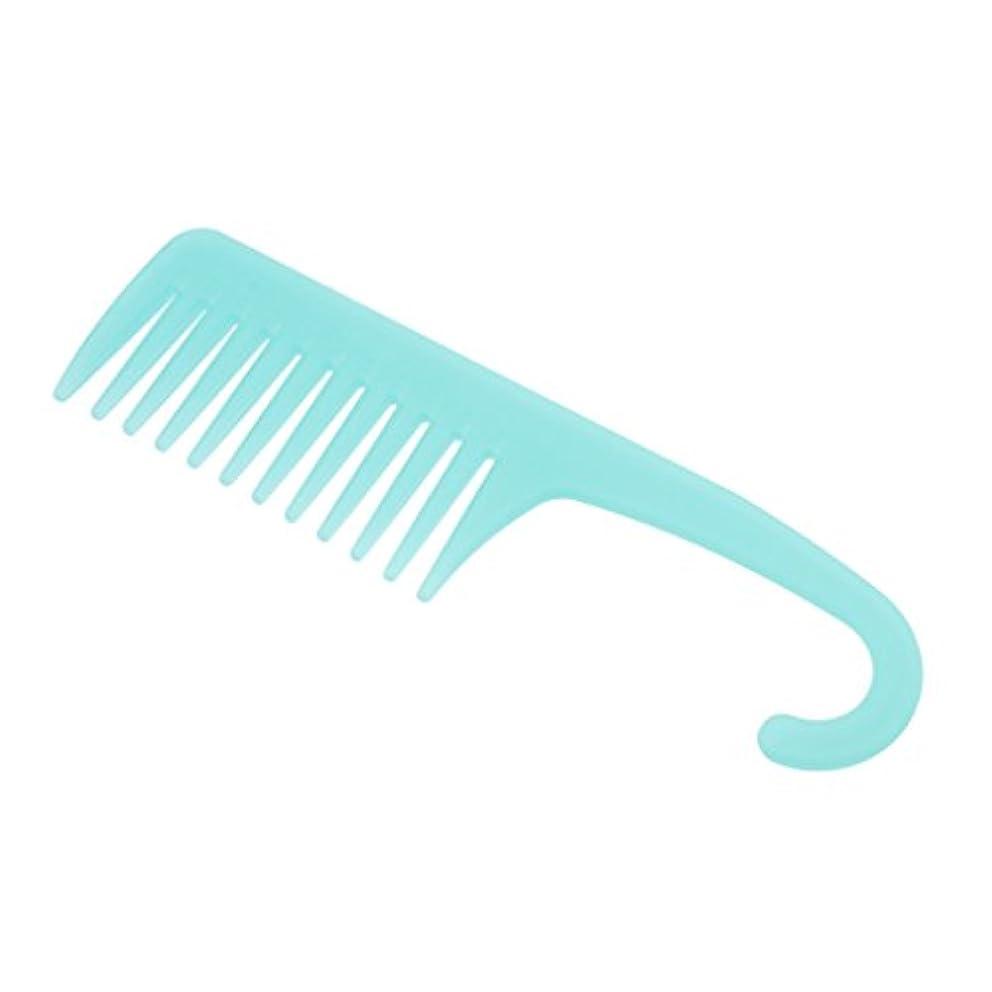 できない偽物揺れるPerfeclan ワイド歯ブラシ ヘアブラシ プロ ヘアーコンディション 櫛 耐熱性 帯電防止 ヘアコーム 3タイプ選べる - A