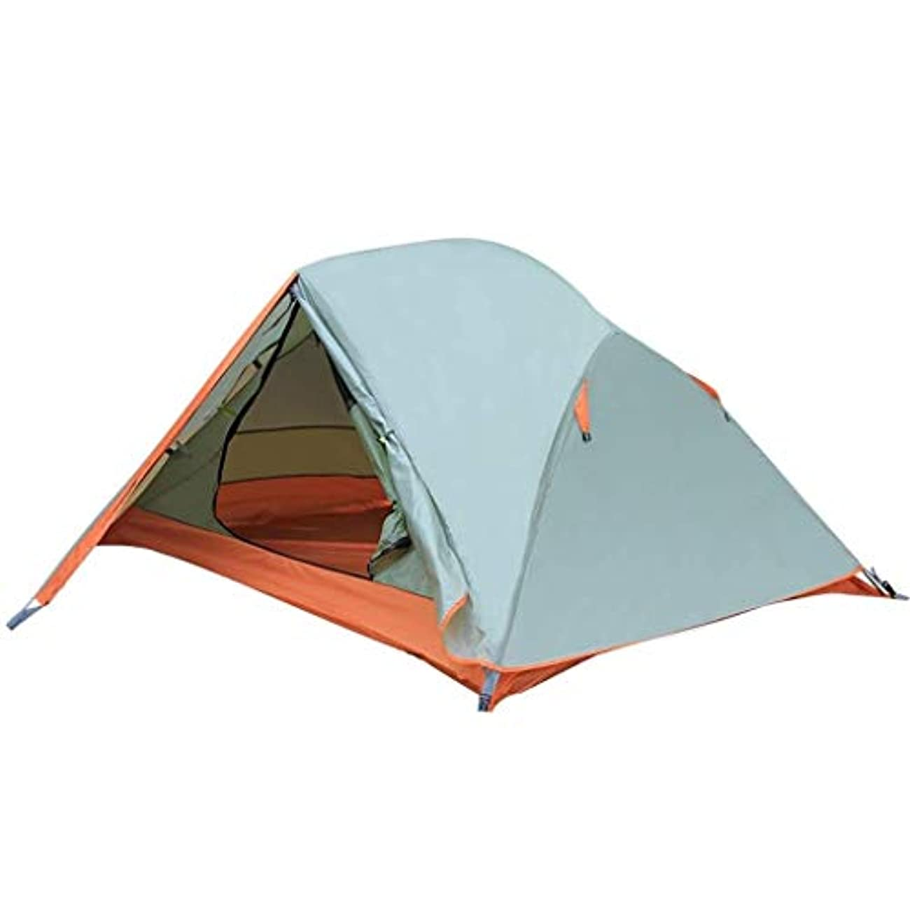 バブル発動機たっぷり2人のテントの二重層の防水軽量のドームのテントの屋外のキャンプテント