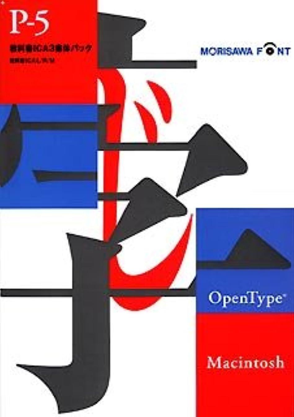 スリーブある機転OpenType Pack 5 教科書ICA 3書体 for Macintosh