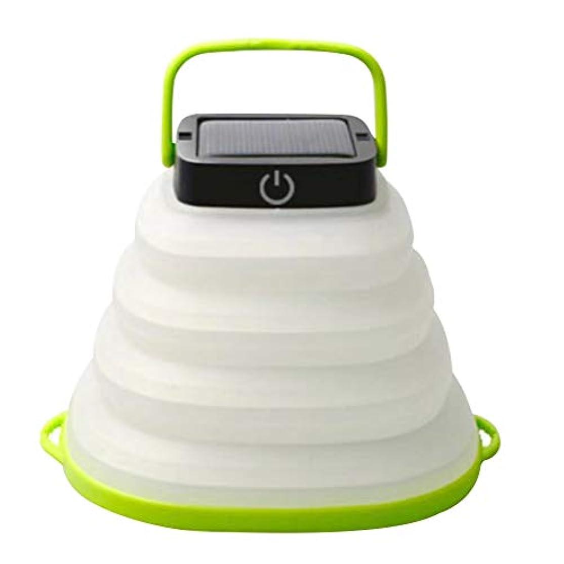 救い丈夫違反VORCOOL 折りたたみ式LEDキャンプランタン屋外の冒険のためのソーラーパワードシリコンテントライト