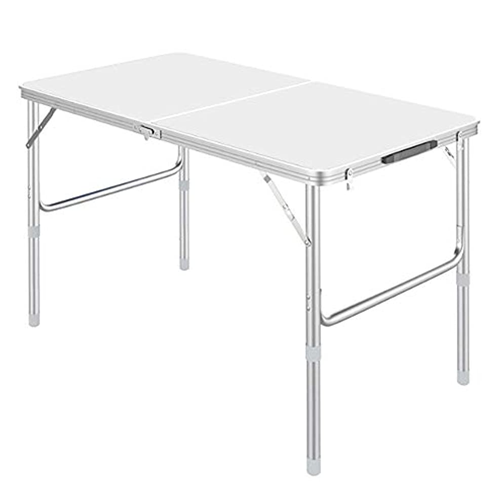 物質直面する委任する携帯用アルミニウム折りたたみ式テーブル、調節可能な高さ、携帯用40Kg、屋外用、ピクニック用、バーベキュー用、ビーチ用、家庭用