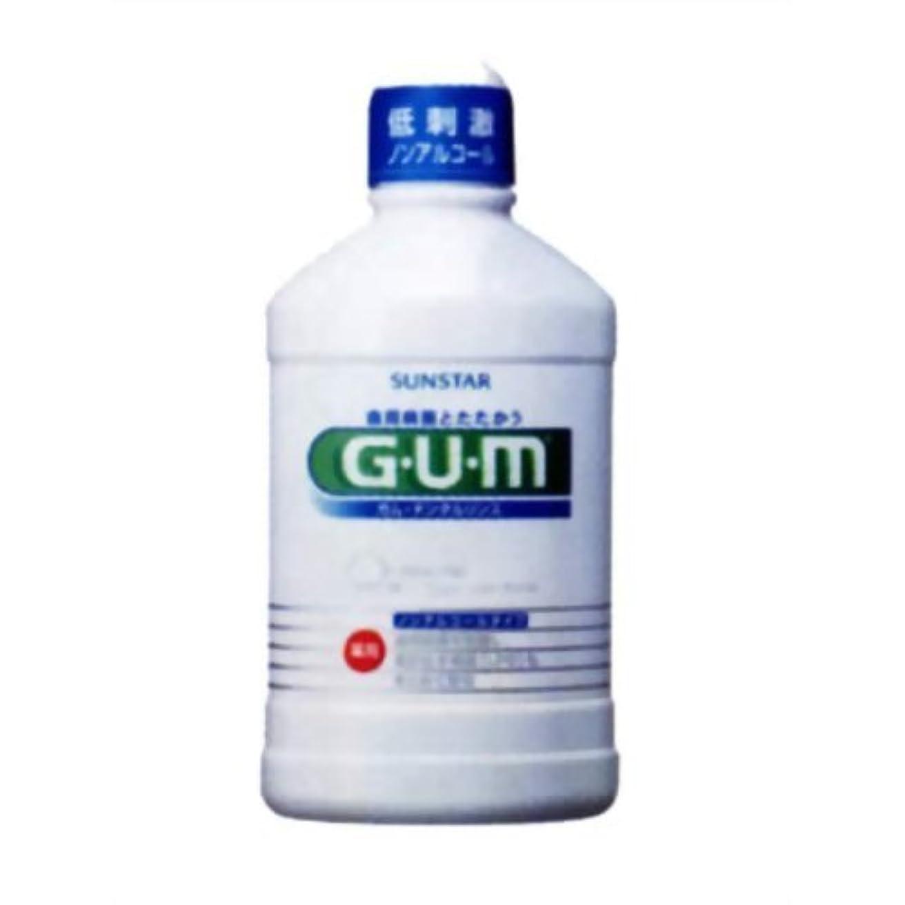 ステートメント警告プロジェクターGUM(ガム) 薬用 デンタルリンス ノンアルコールタイプ 250ml