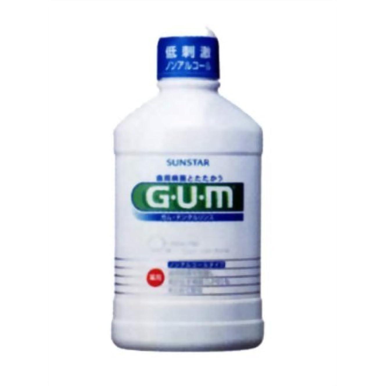 ケーキ自然無限大GUM(ガム) 薬用 デンタルリンス ノンアルコールタイプ 250ml