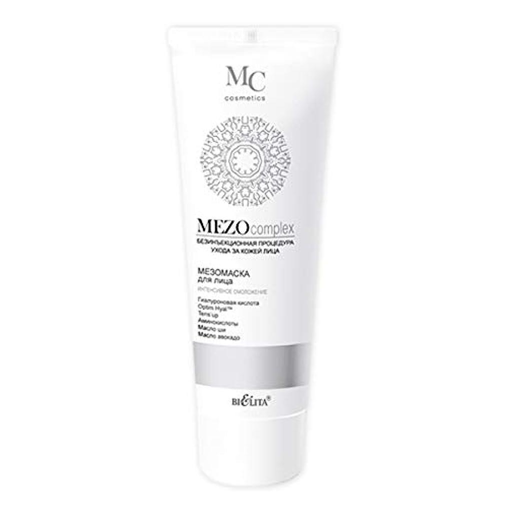 そのマントル円周Mezo complex   Mezo MASK for the face   Non-injection facial skin care procedure   Hyaluronic acid   Optim Hyal   Tens'up   Cocktail of amino acids   Shea Butter   Avocado oil   Active formula   100 ml