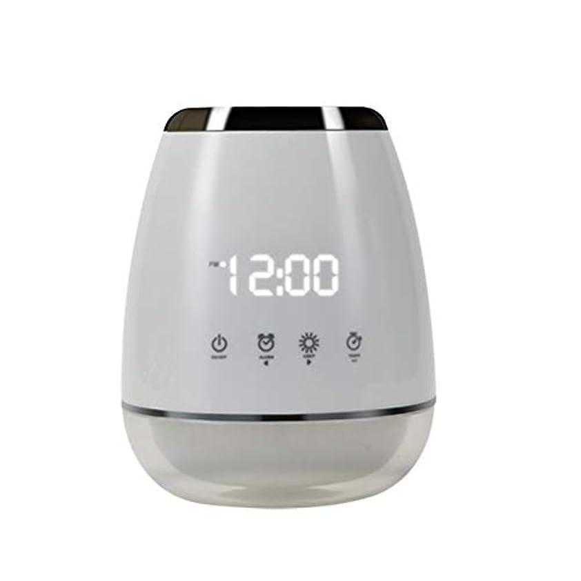 地平線長老大胆エッセンシャルオイル アロマディフューザー 空気加湿器 アロマセラップ LED 超音波 クールミスト フォガー 加湿器 ディフューザー スプレー 家庭用 USプラグ付き ホワイト