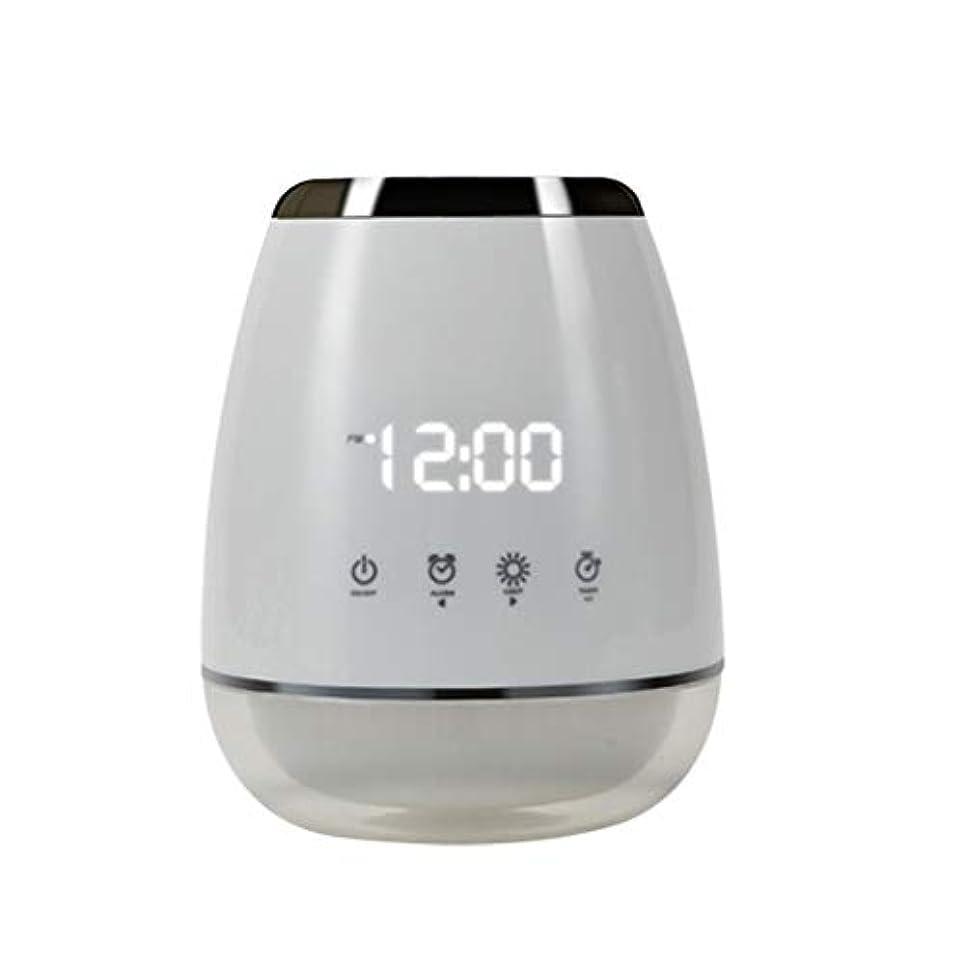 アナログデモンストレーションパン屋エッセンシャルオイル アロマディフューザー 空気加湿器 アロマセラップ LED 超音波 クールミスト フォガー 加湿器 ディフューザー スプレー 家庭用 USプラグ付き ホワイト