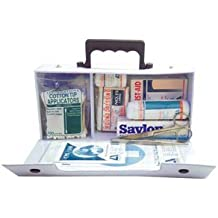 Livingstone First Aid Kit, Class C, Complete Set In PVC Case, for 1-10 people, Meets Occupational Health and Safety Regulation
