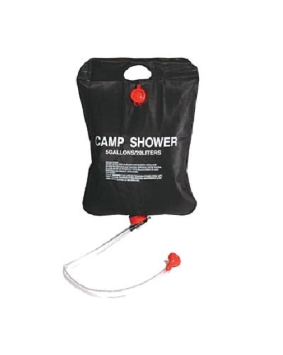 話す二週間コンベンションKingCamp Portable Outdoor Solar Shower Bag 20 Litre/5.28 Gallon