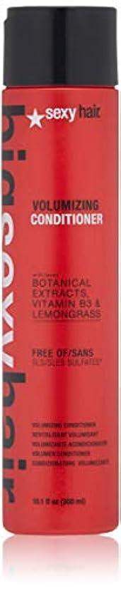 不満シットコム溶かすセクシーヘアコンセプト Big Sexy Hair Sulfate-Free Volumizing Conditioner 300ml/10.1oz並行輸入品