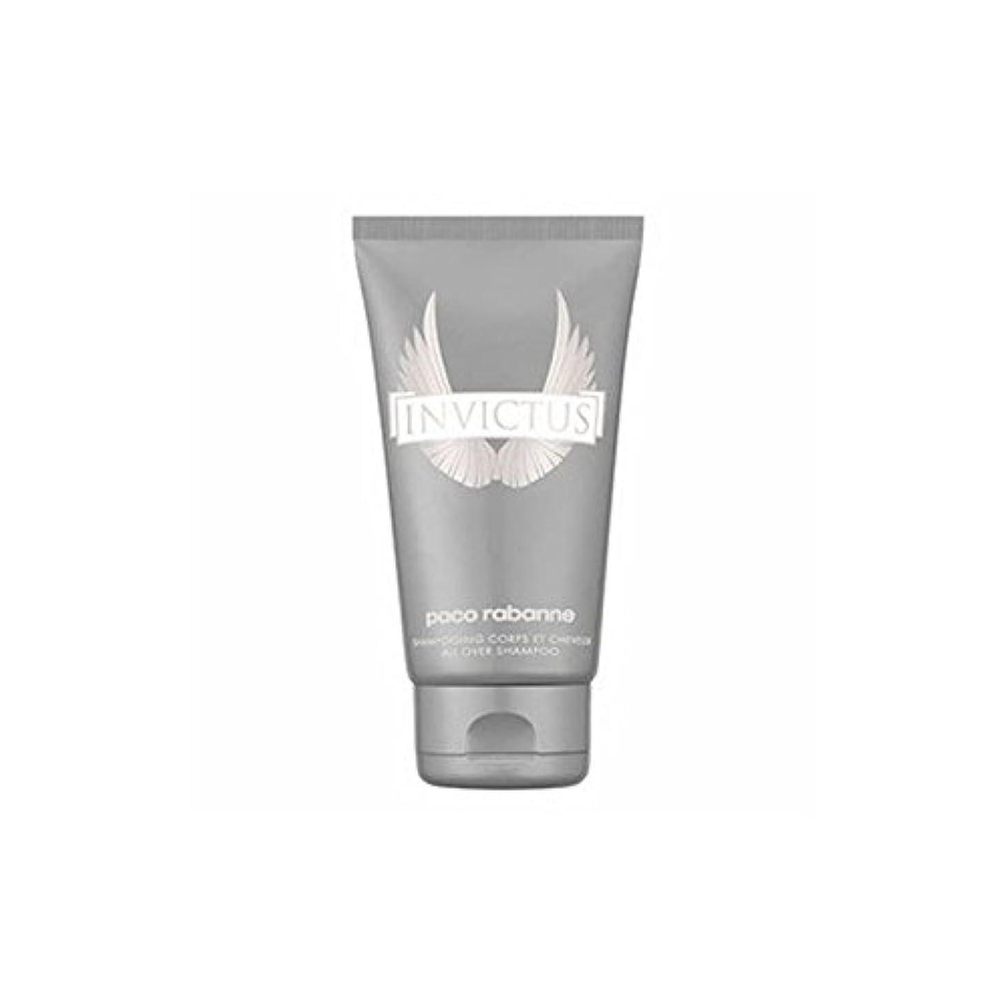 エラーに付ける見かけ上[Paco Rabanne ] 男性のためのパコラバンヌのInvictusシャワージェル - 150ミリリットル - Paco Rabanne Invictus Shower gel for Men - 150ml [並行輸入品]