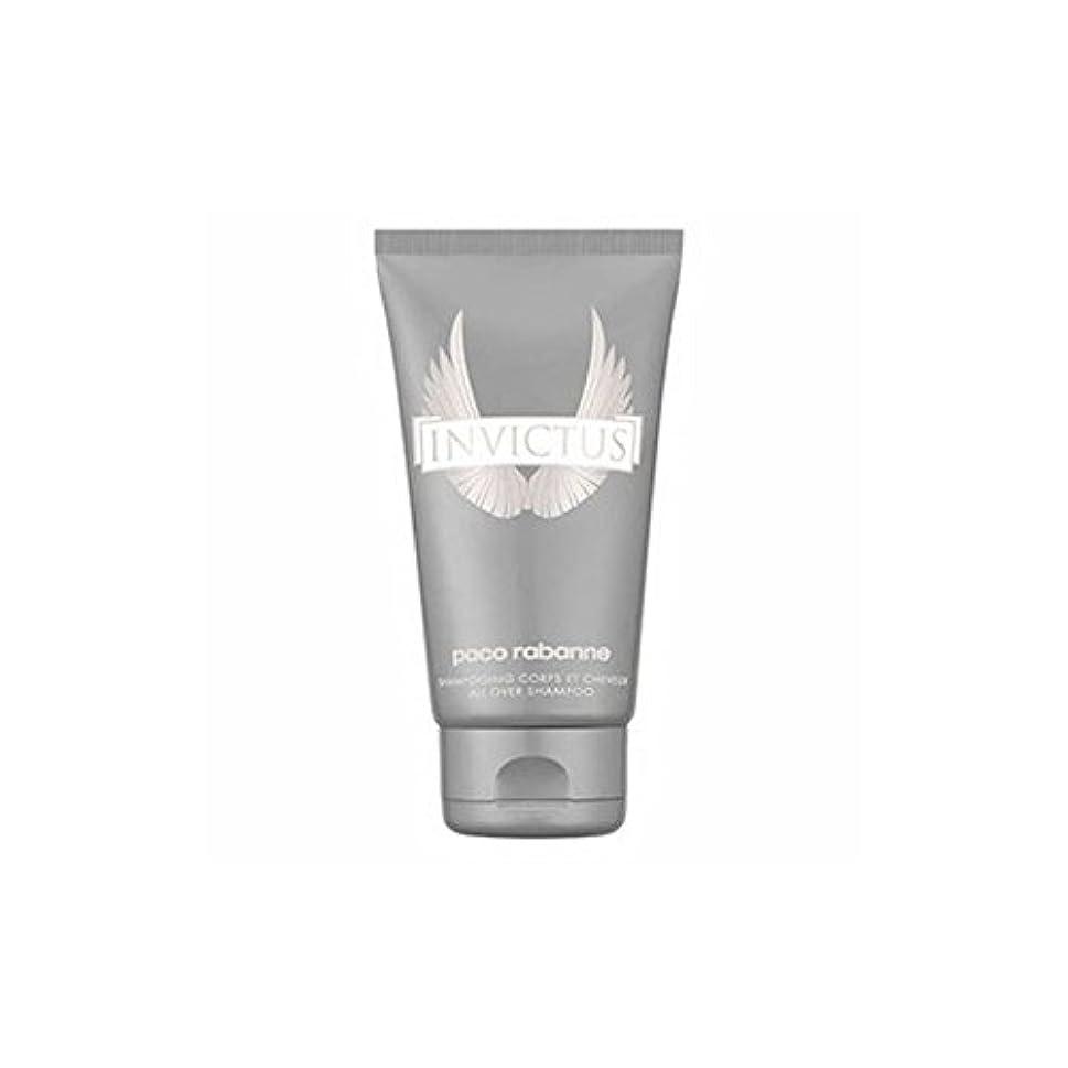 誇張する愛指定[Paco Rabanne ] 男性のためのパコラバンヌのInvictusシャワージェル - 150ミリリットル - Paco Rabanne Invictus Shower gel for Men - 150ml [並行輸入品]