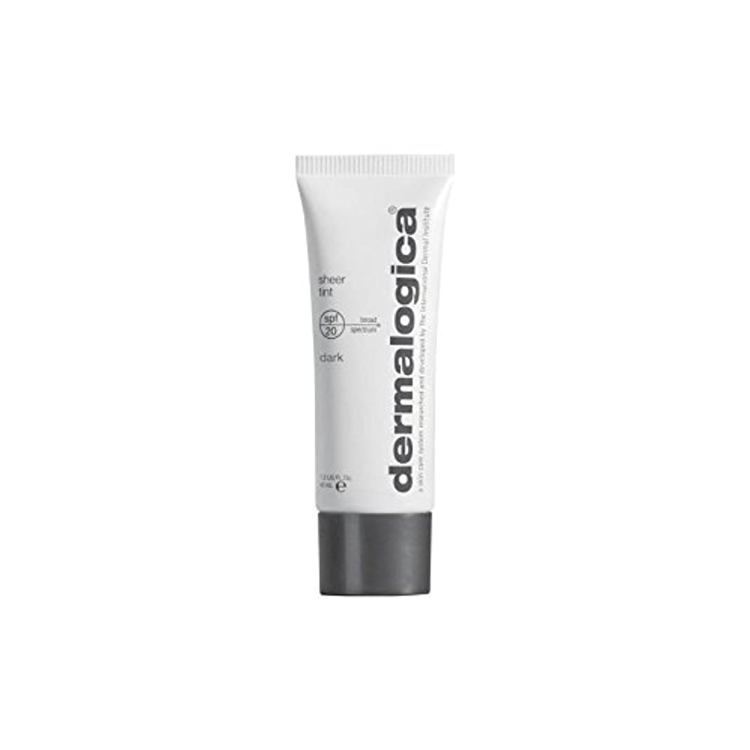 Dermalogica Sheer Tint Spf 20- Dark (Pack of 6) - ダーマロジカシアーティント 20 - ダーク x6 [並行輸入品]