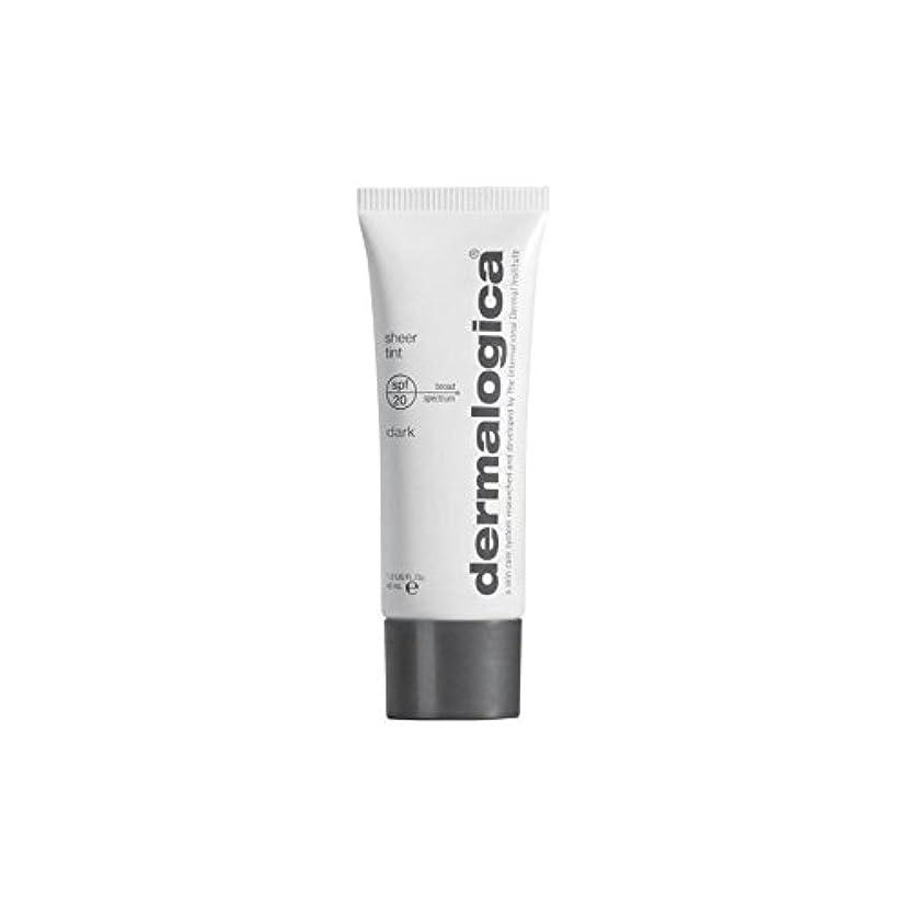 Dermalogica Sheer Tint Spf 20- Dark - ダーマロジカシアーティント 20 - ダーク [並行輸入品]