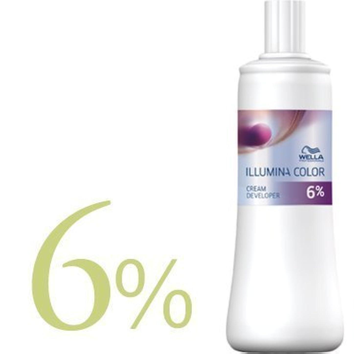 モスおっと忠実なウエラ イルミナカラー クリームディベロッパー 2剤 1000ml 【WELLA】(6%)