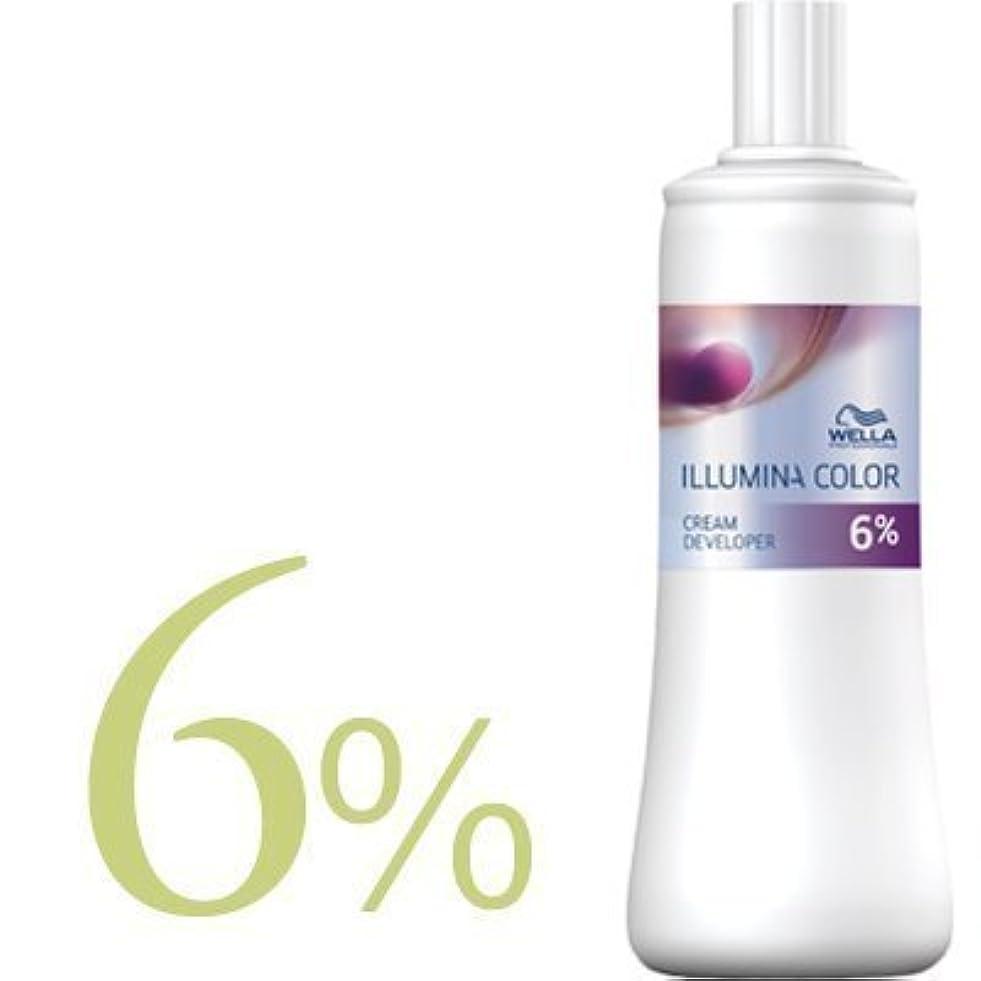 樹木ルネッサンス甘いウエラ イルミナカラー クリームディベロッパー 2剤 1000ml 【WELLA】(6%)