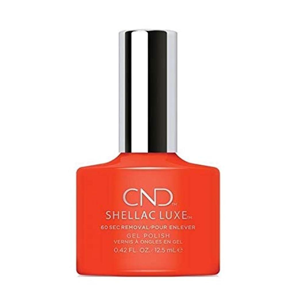 約設定切り離すふさわしいCND Shellac Luxe - Electric Orange - 12.5 ml / 0.42 oz