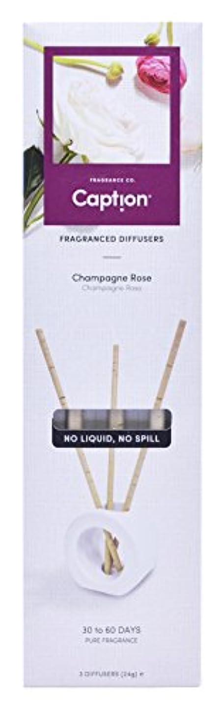 バーゲン反映する限りCaption フレグランス スティック (3本入) CHAMPAGNE ROSE