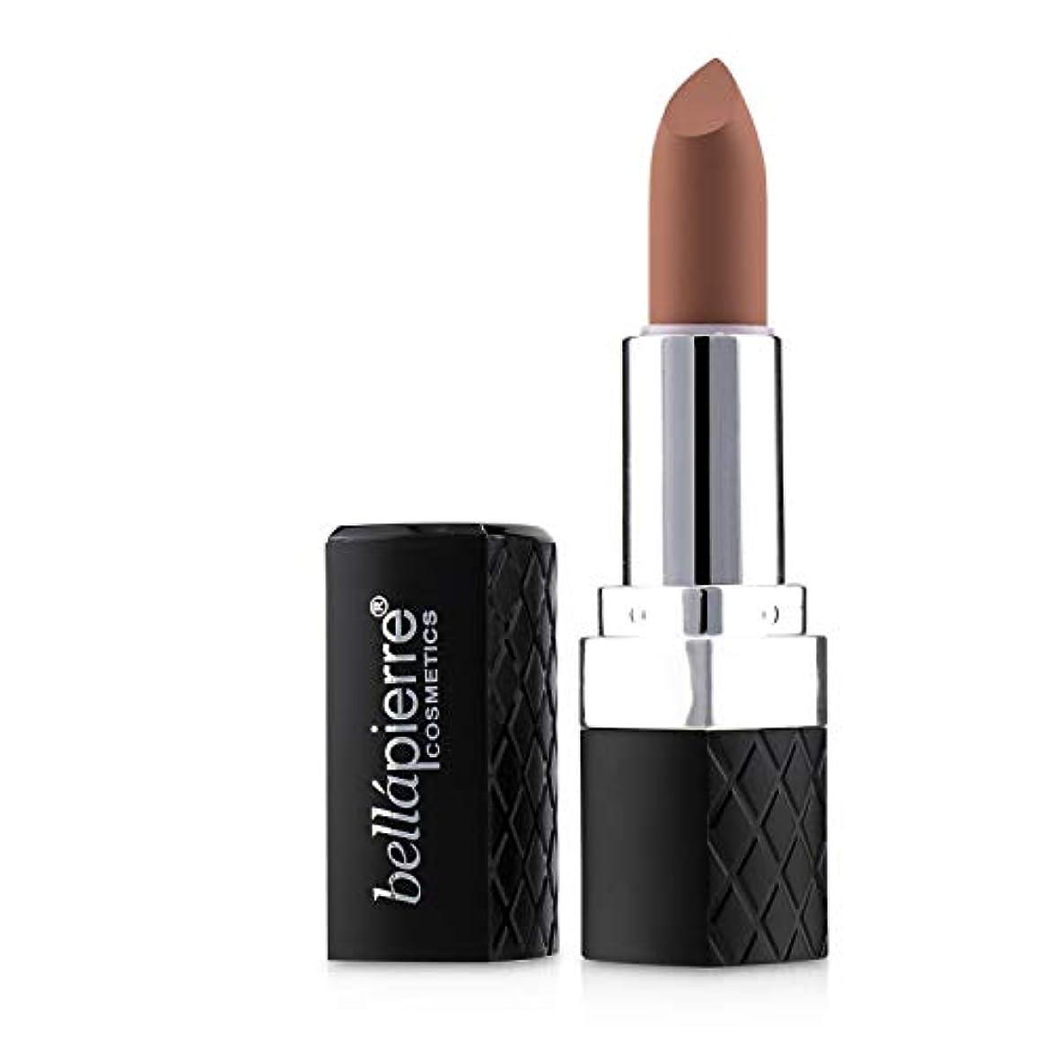 柔らかい伝統れんがBellapierre Cosmetics Matte Lipstick - # Incognito (Caramel Nude) 3.5g/0.123oz並行輸入品
