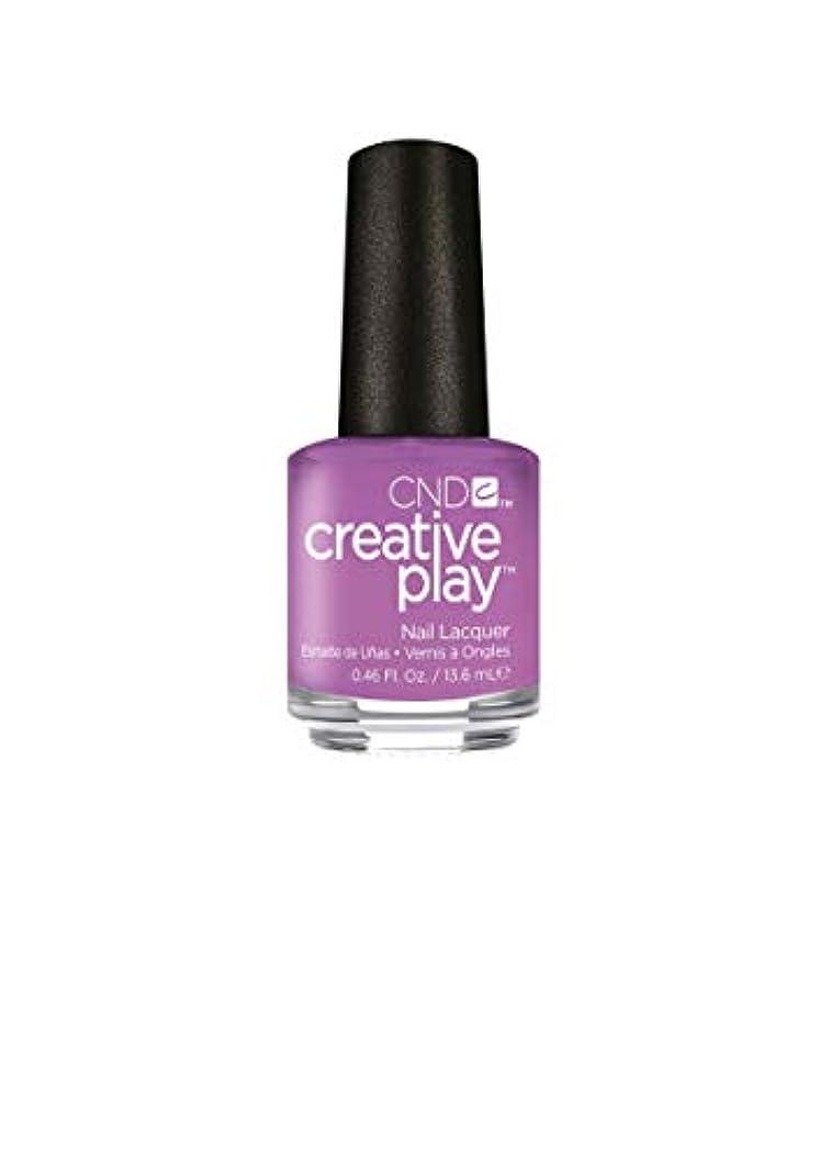 失礼なパーフェルビッド不透明なCND Creative Play Lacquer - A Lilac-y Story - 0.46oz / 13.6ml