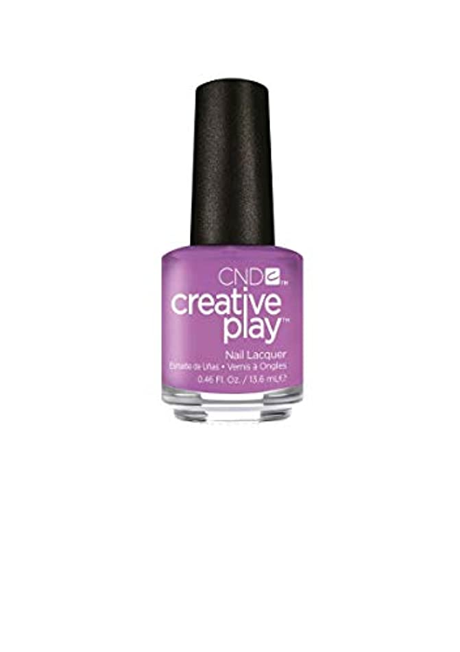 障害者発表する後ろ、背後、背面(部CND Creative Play Lacquer - A Lilac-y Story - 0.46oz / 13.6ml