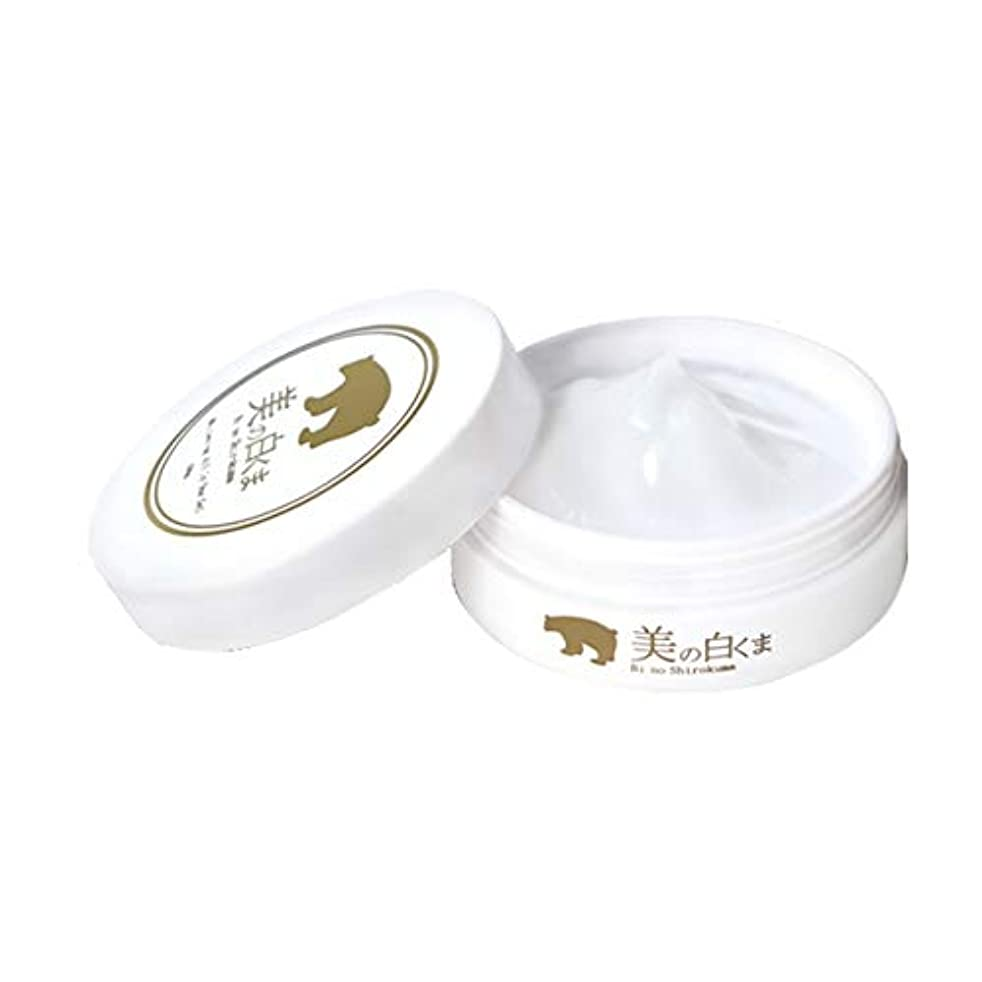 平和樹皮時期尚早美の白くま<美白オールインワンゲル50g> シミ取り保湿(医薬部外品)ふっくら美肌体験… ベタつかない?