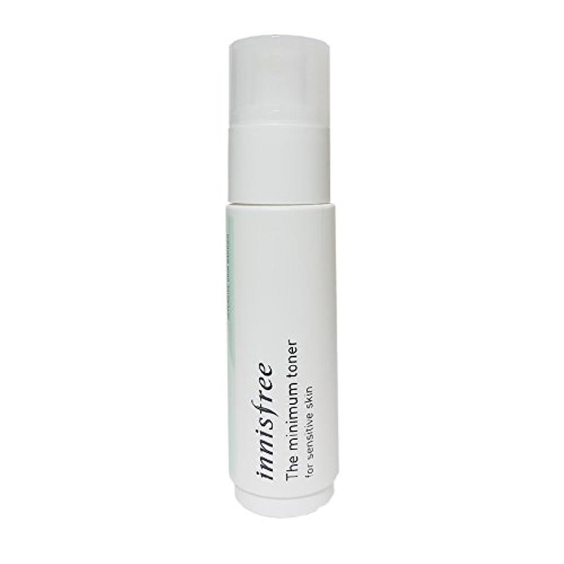 避難する引く接続された[イニスフリー] Innisfree ザミニマム トナー敏感肌用(45ml) Innisfree The Minimum Toner For Sensitive Skin(45ml)  [海外直送品]