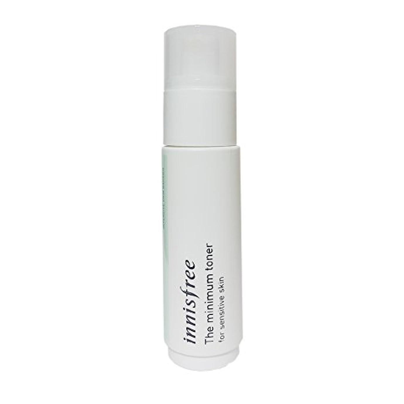 ほうき怪物黄ばむ[イニスフリー] Innisfree ザミニマム トナー敏感肌用(45ml) Innisfree The Minimum Toner For Sensitive Skin(45ml)  [海外直送品]