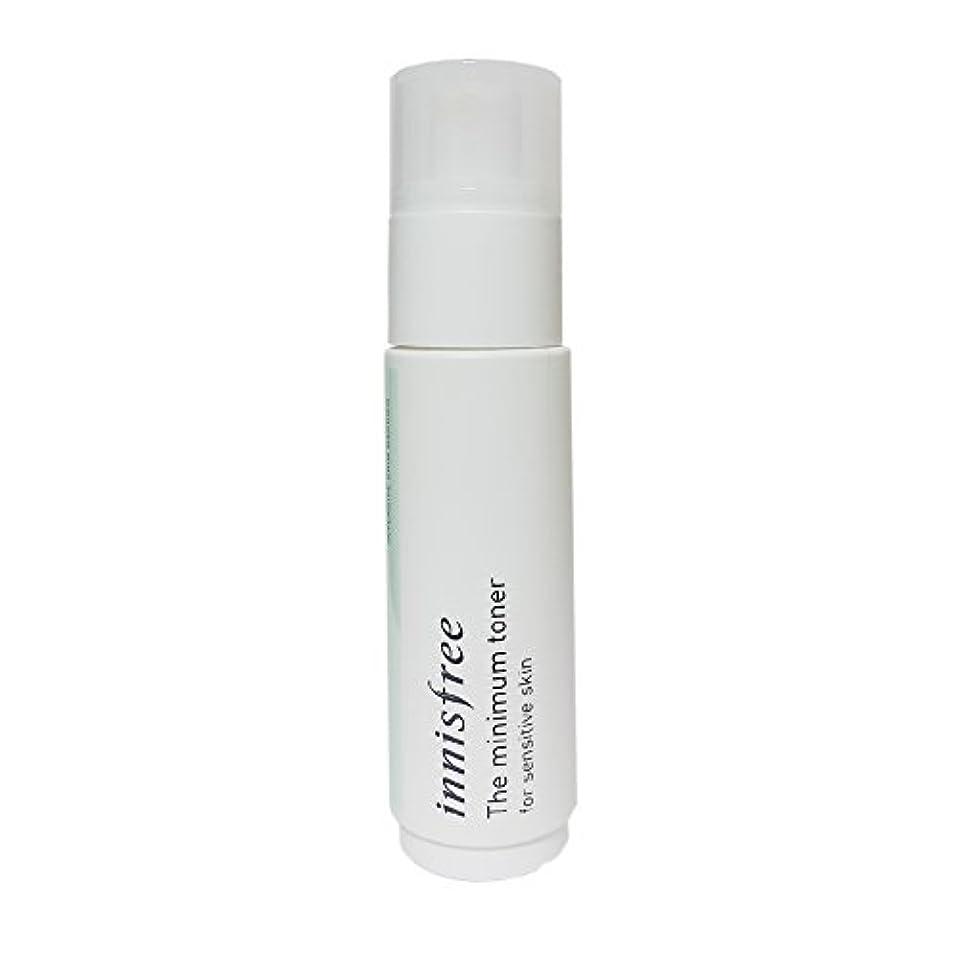 化学者信仰うま[イニスフリー] Innisfree ザミニマム トナー敏感肌用(45ml) Innisfree The Minimum Toner For Sensitive Skin(45ml)  [海外直送品]
