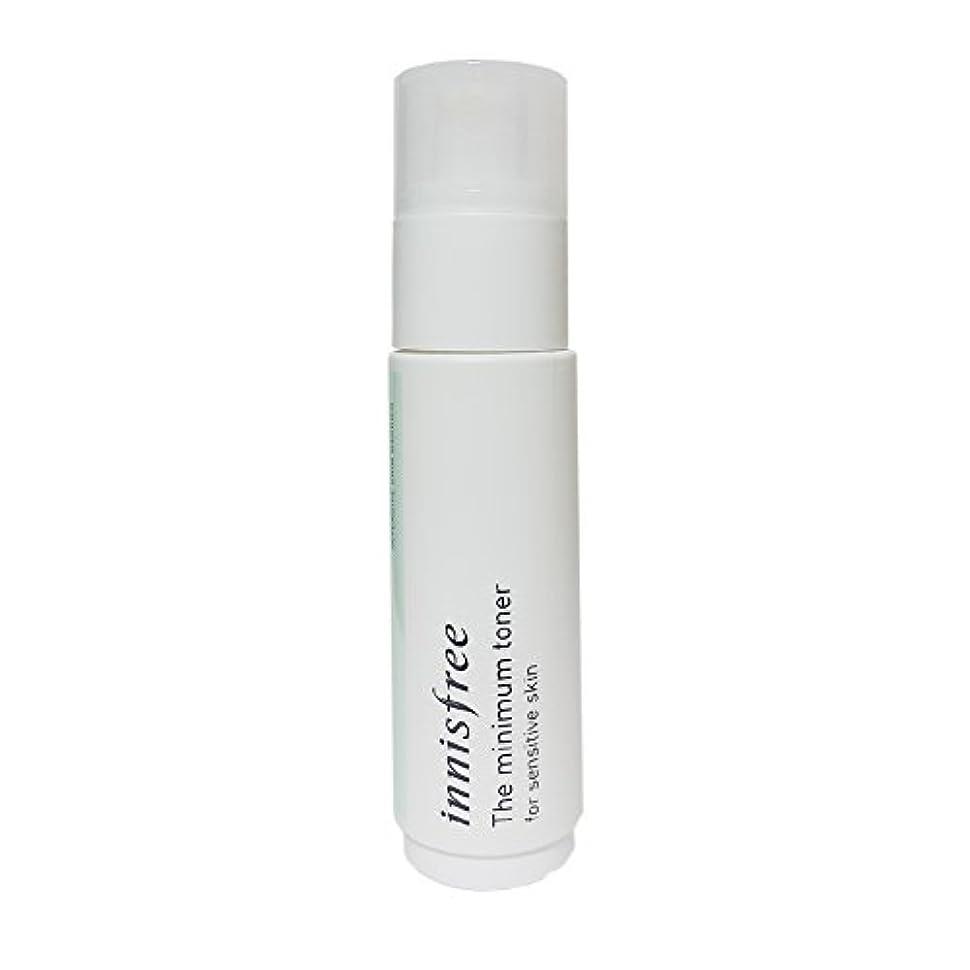 ティーンエイジャー努力する征服する[イニスフリー] Innisfree ザミニマム トナー敏感肌用(45ml) Innisfree The Minimum Toner For Sensitive Skin(45ml)  [海外直送品]